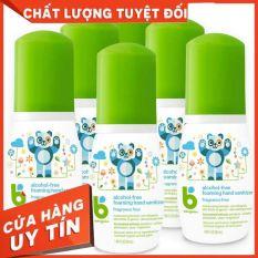 Nước Rửa Tay Khô Babyganics Cho Bé Dung Tích 50ml