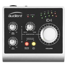 Sound card thu âm chuyên nghiệp nguồn 48V | Audient iD4