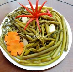 Rau mướp chua ngọt ( Đặc sản Củ Chi ) – Túi 800g – Châu Gia Food