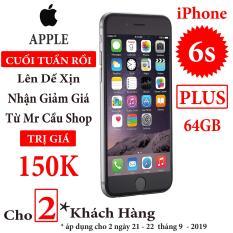 Điện thoại Apple iPhone 6s Plus – 64GB – Bản quốc tế – Full phụ kiện – Bảo hành 6 tháng – Đổi trả miễn phí tại nhà – Yên tâm mua sắm với Mr Cầu ( Điện thoại giá rẻ, điện thoại smartphone, Điện thoại thông minh)