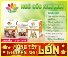 Combo 02 hộp ngũ cốc lợi sữa Min Min – Dinh dưỡng thiết yếu hàng ngày cho mẹ và bé – Hộp 500gr