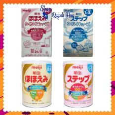 Sữa Meiji nội địa Nhật [CHÍNH HÃNG] hộp sắt / hộp giấy dạng thanh số 0-1 / số 1-3 – [CÓ TEM PHỤ TIẾNG VIỆT]