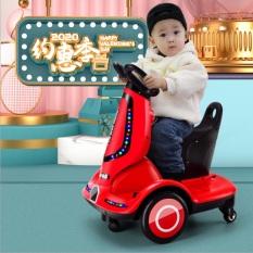 Xe điện cho bé có thể xoay 360 độ( có điều kiểm từ xa)