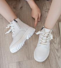 Giày bốt bé gái khóa kéo , đế mềm , phong cách Hàn Quốc TL38