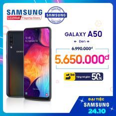 Điện Thoại Samsung Galaxy A50 64GB (4GB RAM) – Màn hình tràn viền Infinity – U với độ phân giải Full HD sAmoled + Bộ 3 camera sau + Pin 4000 mAh – Hàng Phân Phối Chính Hãng.