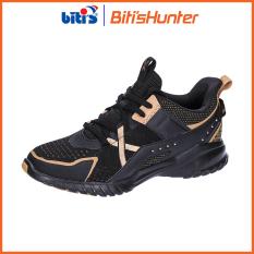 [Tặng Set 2 Chiếc Khẩu Trang Vải Kháng Khuẩn RABITY]Giày Thể Thao Cao Cấp Nam Biti's Hunter X Old Kool Black DSMH06500DEN (Đen)