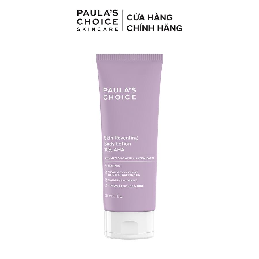 Kem dưỡng thể làm sáng da Paula's Choice RESIST SKIN REVEALING BODY LOTION WITH 10% AHA 5900