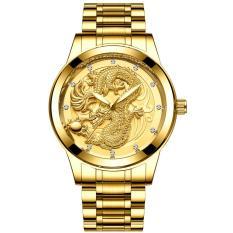 Đồng hồ thời trang nam dây thép mặt rồng FNGEEN PKHRFNG002 – Ngọa hổ tàng long