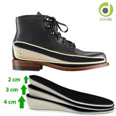Lót giày tổ ong độn đế tăng chiều cao 2cm, 3cm, 4cm freesize – doni86 – PK57