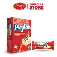 Bánh Peppie Richy phủ socola trắng hộp 3 (45g)