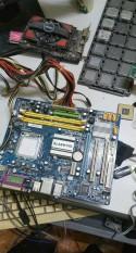 Combo máy tính main + ram+ chip+ ổ + nguồn