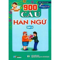 900 Câu Hán Ngữ (Tập 2) – 8935072892500