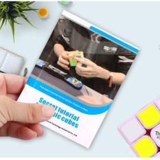 Công Thức CFOP Chuẩn Giải Rubik Các Loại, Các Hãng QiYi, MoYu, YuXin, Pro, Gan. Hướng Dẫn Chơi Rubic