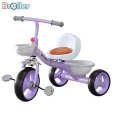 Xe đạp trẻ em, Xe đạp 3 bánh 001 có giỏ để đồ dành cho bé từ 2 đến 6 tuổi