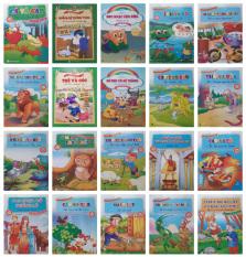 Combo 20 tập Truyện cổ tích song ngữ – Truyện tranh song ngữ Việt – Anh cho bé 4 – 8 tuổi