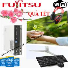 Bộ máy tính văn phòng FUJITSU màn 24 MỚI i7 2600/ i5 2300/ i3 2100) MÀN 24 INCH MỚI TRỌN BỘ nhập khẩu chuyên Văn phòng, Học tập và làm việc tặng USB wifi vào mạng không dây, cắm điện là dùng