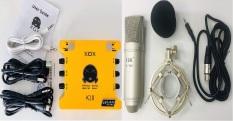 Combo Thu Âm XOX K10 Đặt Biệt Và Mic ISK AT100