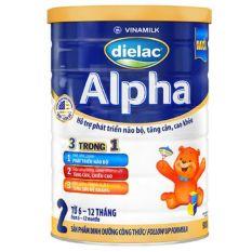 Sữa bột Dielac Alpha 2 – 900g – HSD 2022