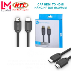 Cáp HDMI to HDMI hãng HP dài 1M/2M/3M tùy chọn – hỗ trợ chất lượng UHD 4K 60Hz (đen) – Nhất Tín Computer