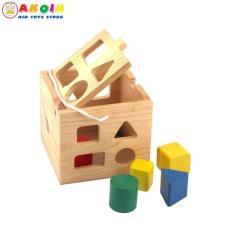 Đồ chơi hộp thả khối Minh Thành cho bé