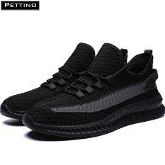 Giày thể thao nam, giày nam đẹp, vải sợi kết hợp dải lưới thoáng khí, thời trang PETTINO – LLPZS03