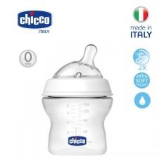 Bình sữa núm nghiêng Pisa Natural Feeling Chicco 150ml