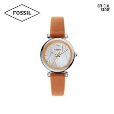 Đồng hồ nữ FOSSIL Carlie Mini dây da ES4835 – màu nâu