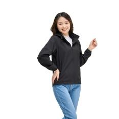 Áo khoác gió nữ thể thao có mũ chính hãng YODY – AKN4024