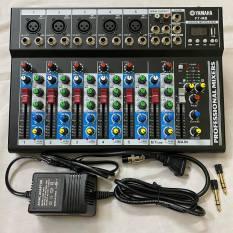 BÀN TRỘN MIXER F7 USB BLUETOOTH BÀN TRỘN ÂM THANH Giá Rẻ Chất Lượng – Mixer Livestream, karaoke