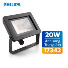Đèn pha Philips LED My Garden 17342 20W 4000K – Ánh sáng trung tính
