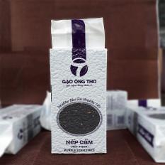 [ Ăn Kiêng – Bệnh Tiểu Đường ] Gạo Nếp Cẩm – Gạo Ông Thọ Túi 1Kg – Thơm ngọt mềm dẻo, tốt cho sức khỏe
