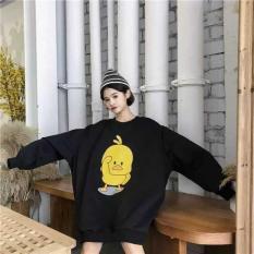 áo hoodie nữ in hình con vịt siêu dể thương siêu cute ST289