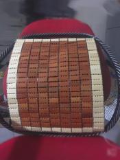 Tấm trúc tưa lưng dành cho ghế văn phòng ghế oto chống mỏi lưng hỗ trợ cột sống luôn thoải mái và mát mẻ