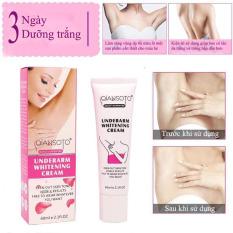 Kem dưỡng trắng da mờ thâm khử mùi vùng nách làm trắng da body cấp ẩm Qiansoto Whitening Underarm Moisturizing