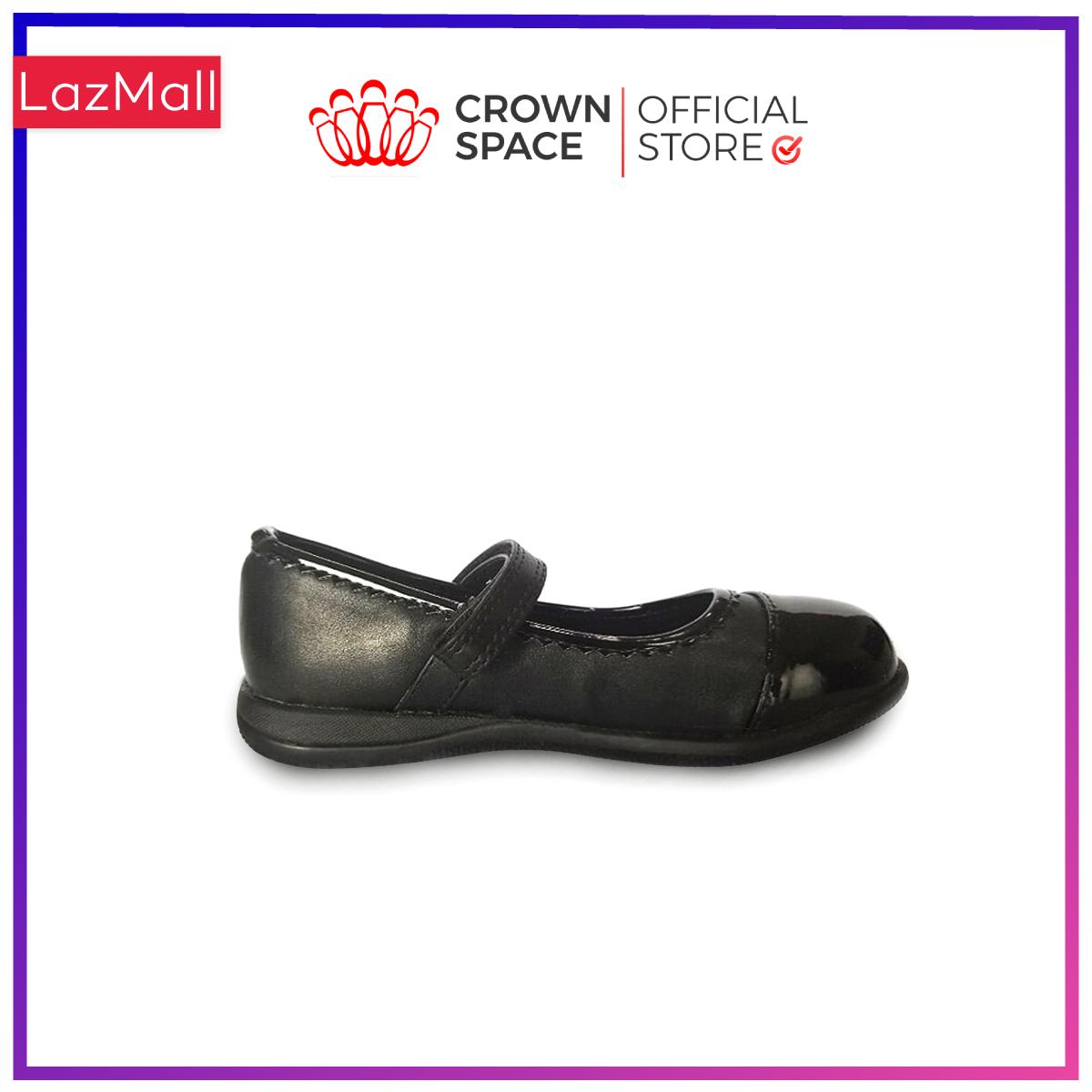 Giày búp bê đi học bé gái Crown Space UK giày búp bê cho bé từ 4 đến 14 tuổi size 28 đến 36 đi nhẹ êm chân thoáng mát CRUK3030