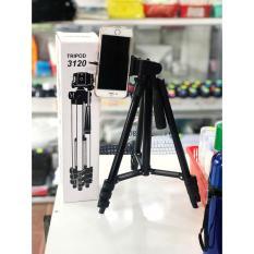 Chân máy chụp ảnh tripod 3120 mẫu 2020 [Mua 1 được 3] , tripod điện thoại, chân quay điện thoại, gậy livestream quay phim + Tặng kèm 1 remote chụp ảnh+ giá kẹp điện thoại – BEEKEYSTORE
