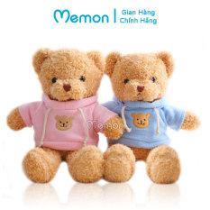 Gấu Bông Teddy Head Tales Áo Mũ Mini 20cm Cao Cấp Memon