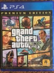 Đĩa Game PS4 Grand Theft Auto V Premium Edition (GTA 5) -Hàng nhập khẩu