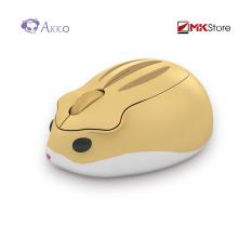 [Nhập ELJAN11 giảm 10%, tối đa 200k, đơn từ 99k]Chuột không dây Akko Hamster Wireless Mouse