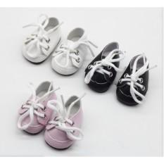 Giày da cho doll 15-22cm (B3B02)