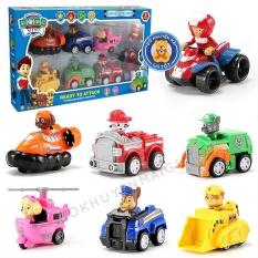 Bộ đồ chơi xe chạy trớn biệt đội chó cứu hộ 9 nhân vật cho bé M99C – Đồ khuyến mãi giá tốt giá tốt