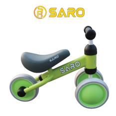 Xe thăng bằng Saro Mini Màu Xanh Lá-Dành cho bé từ 9 tháng đến 24 tháng