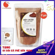 02 packs (1kg) of 100% Pure Cacao Powder – Light Cacao