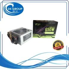 Nguồn máy tính VSP 650W- Kèm dây nguồn- Fullbox- Hàng chính hãng