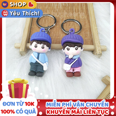 Móc khóa bé gái và bé trai cực đẹp và đáng yêu ✓Hàng mẫu 2 ✓ móc khóa cute ✓ móc khóa xe dễ thương ✓ móc khóa anime chất lượng cao ✓ móc khóa cặp ✓móc khóa cặp đi học✓ Phát Huy Hoàng