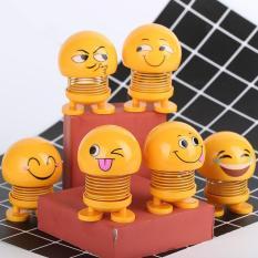 COMBO 5 Thú Nhún Emoji – Emoji Lò Xo – Emoji Cười – Thú Nhún Lò Xo – Thú Nhún – Emoji Lò Xo Ngộ Nghĩnh – Đồ Chơi Tiêu Khiển – Trang Trí Xe Hơi, Bàn Làm Việc, Học Tập, Đồ chơi trẻ em, đồ chơi siêu nhân – đồ chơi giải trí