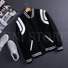 [Có Feedback] Áo khoác Teddy bomber nam nữ vải denim phong cách Hàn Quốc họa tiết trơn cổ Cardigan tròn dạng nút bấm tay dài 2 lớp thoáng mát