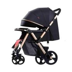 Xe đẩy trẻ em 2 chiều ba tư thế BELECOO 511 bánh hơi có giảm xóc bảo hành 12 tháng