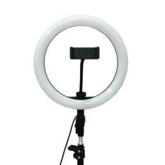 [FREESHIP] Đèn LED LiveStream Đa Năng Kích Thước 26CM (Tặng Kèm Chân Đỡ & Kẹp Điện Thoại) – BH 12 tháng