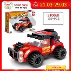 Đồ chơi lắp ráp mô hình xe đua F1 với hơn 90 chi tiết phát triển tư duy của bé và cả nhà có thể chơi cùng nhau – 31006B- KAVY